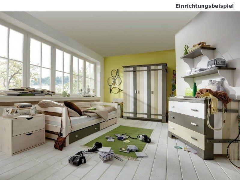 Billig jugendzimmer massivholz Deutsche Deko Pinterest - rattan schlafzimmer komplett