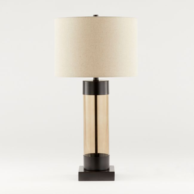 Avenue Bronze Table Lamp With Usb Port Reviews Crate And Barrel In 2021 Table Lamp Bronze Table Lamp Nickel Table Lamps