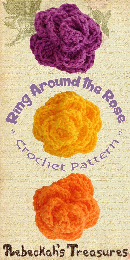 Ring Around The Rose Premium Crochet Pattern By Beckastreasures