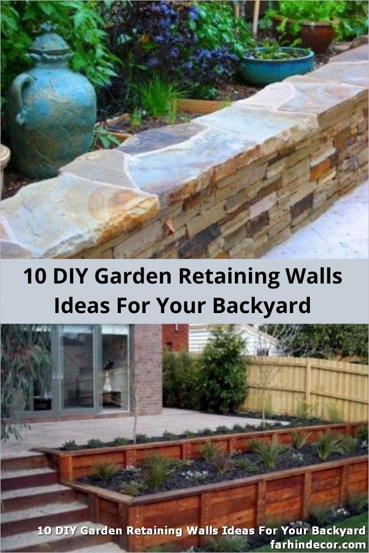 10 Diy Garden Retaining Walls Ideas For Your Backyard On The