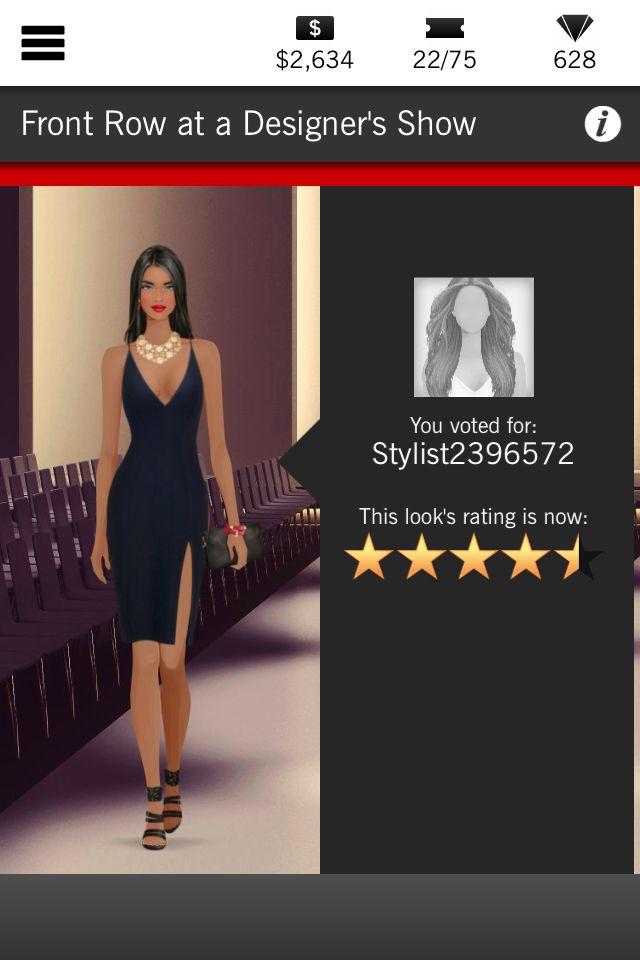 Front Row At A Designer S Show 4 5 Stars Covet Fashion Fashion Little Black Dress
