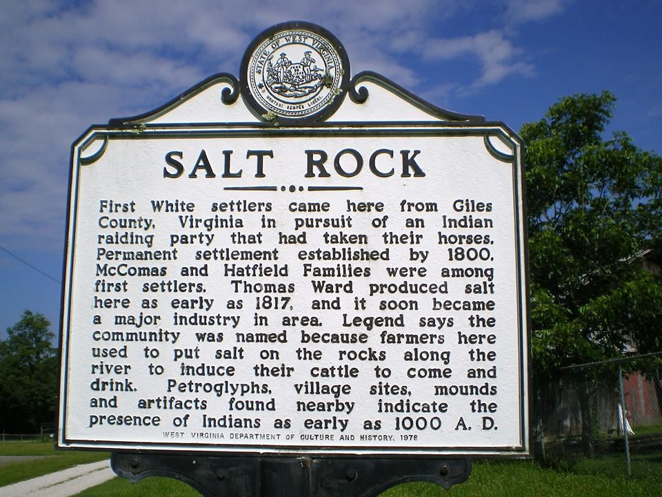 Salt Rock West Virginia Cabell County West Virginia History Towns In West Virginia West Virginia Travel