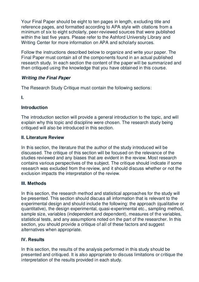 Help writing a research paper sample
