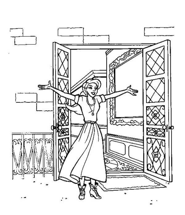 Dibujos para Colorear Anastasia 9 | Dibujos para colorear para niños ...