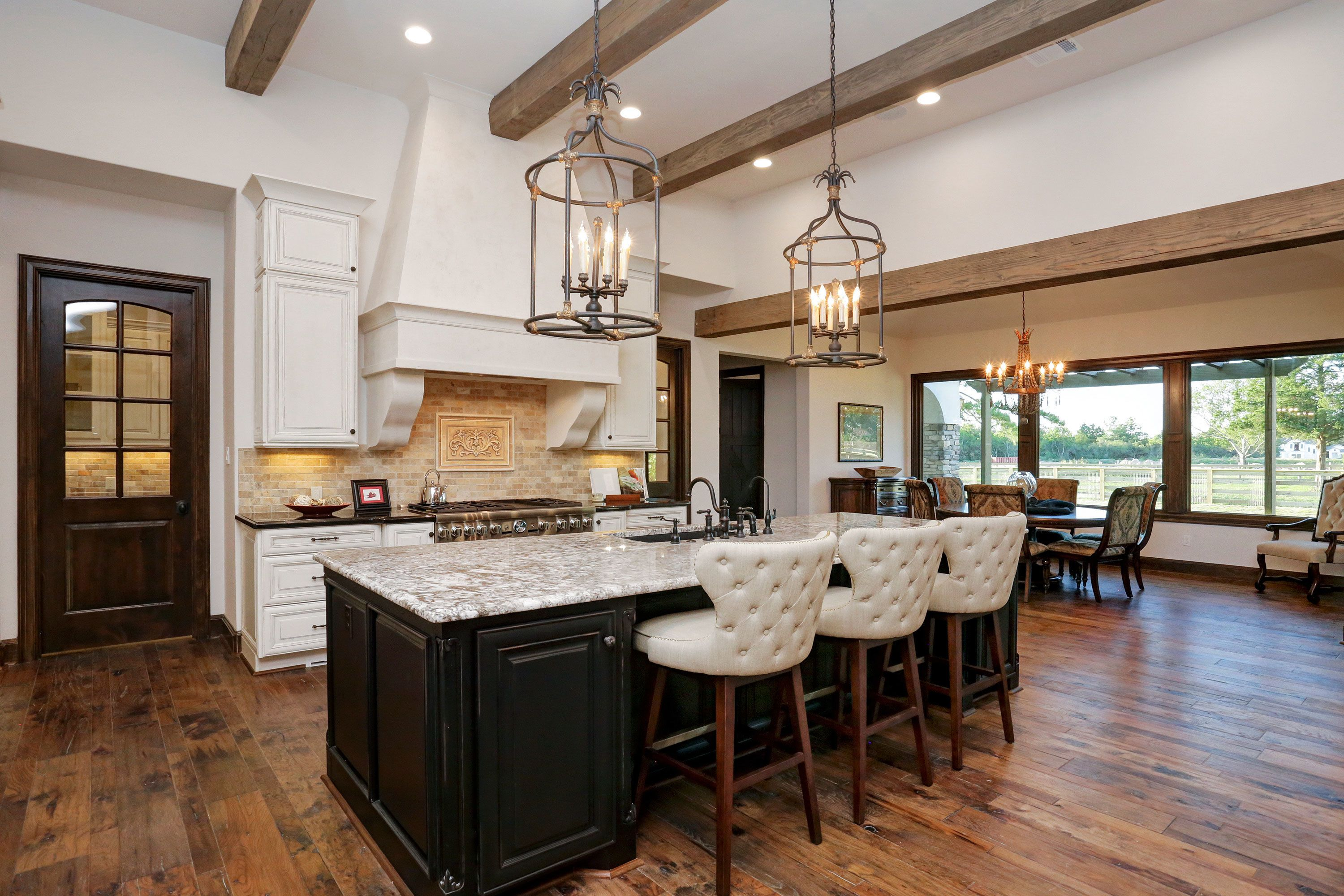 Willowcreek Ranch Island Seating Right | New house in 2018 | Pinterest