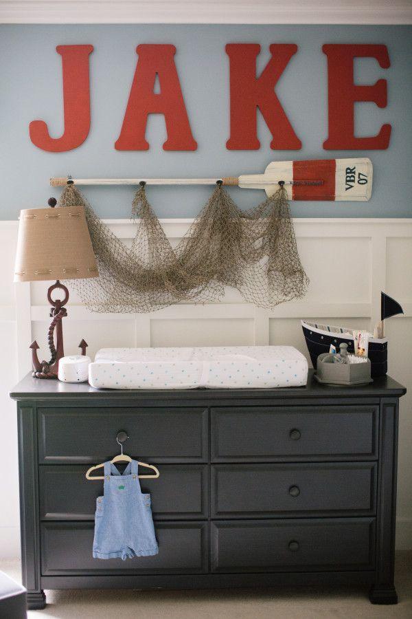 Nautical Baby Boy Nursery Room Ideas: Nursery Inspiration Boy, Nautical