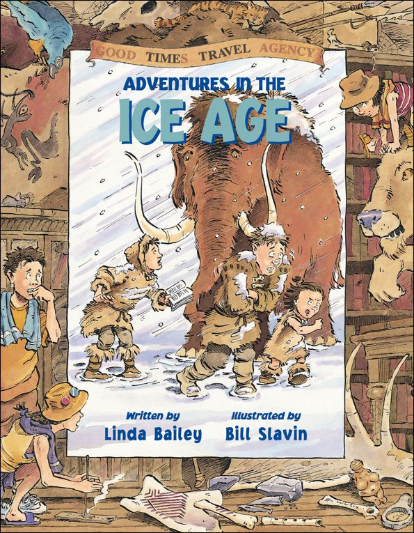 {First People: historical fiction} Adventures in the Ice Age.... not at DPL, try Prospector