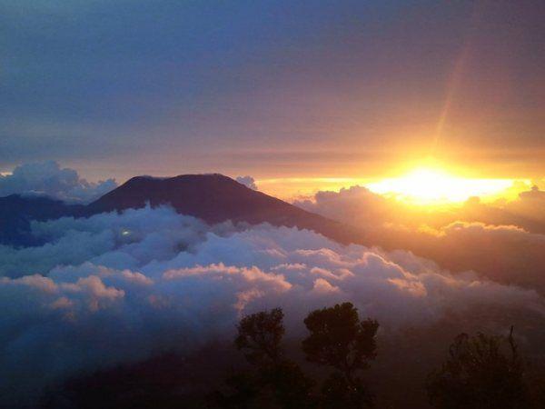 Gunung Merapi Padang Pemandangan Gunung Merapi Fotografi Perjalanan