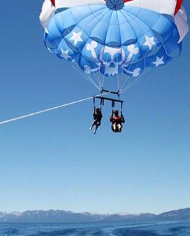 Parasailing, the safest and easiest way to fulfill the adventurer in