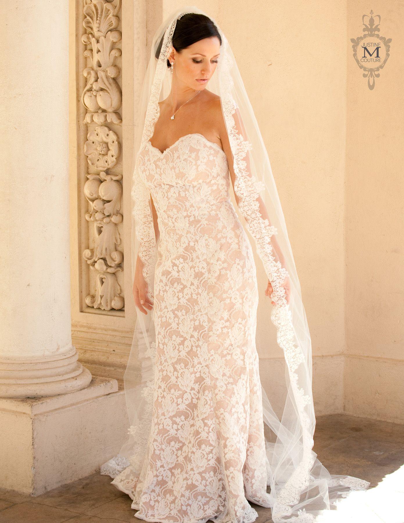 Wedding dress jewelry  Kimberly u Justine M Couture Bridal Veils Jewelry and Accessories