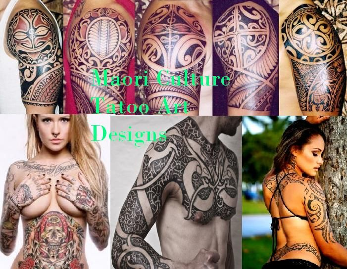 Maori Tattoo Culture: Unique Tattoo Art Of Maori Culture New Zealand (With