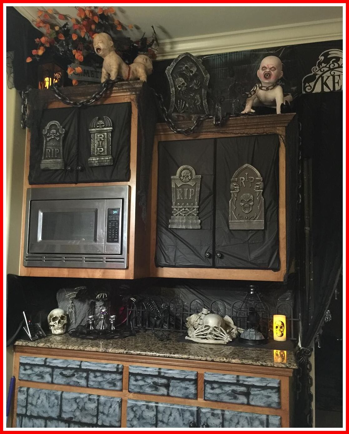 80 reference of halloween kitchen island decor in 2020