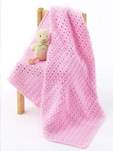 One Skein Baby Blanket Yarn Free Knitting Patterns Crochet