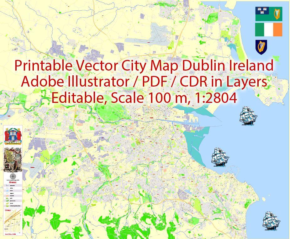 Ireland Map Pdf