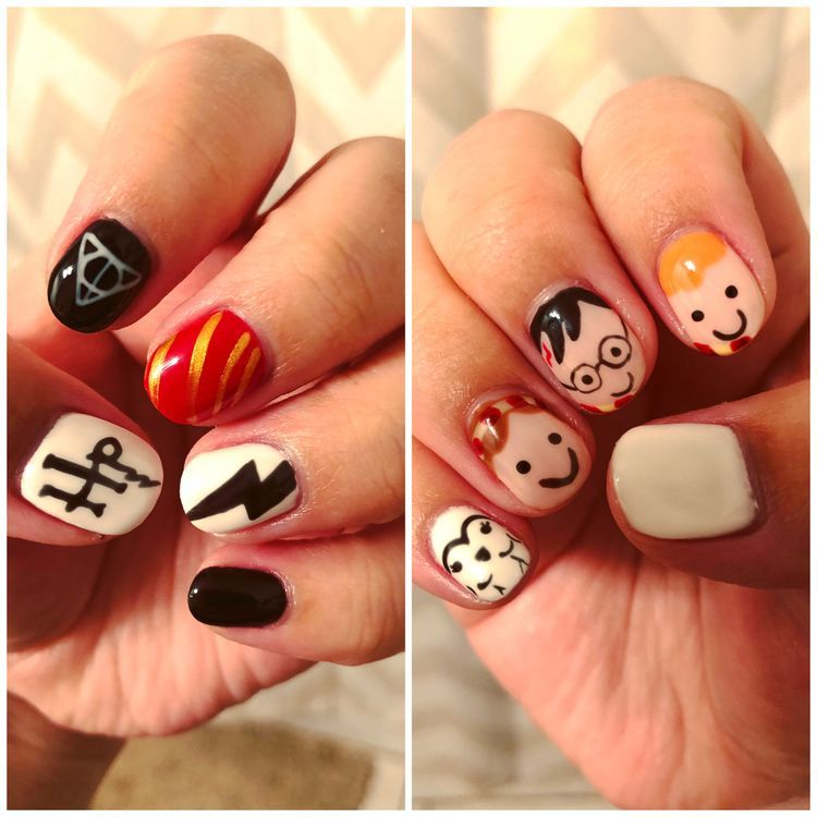 65 Newest And Creative Halloween Nail Art Designs 2018 ...