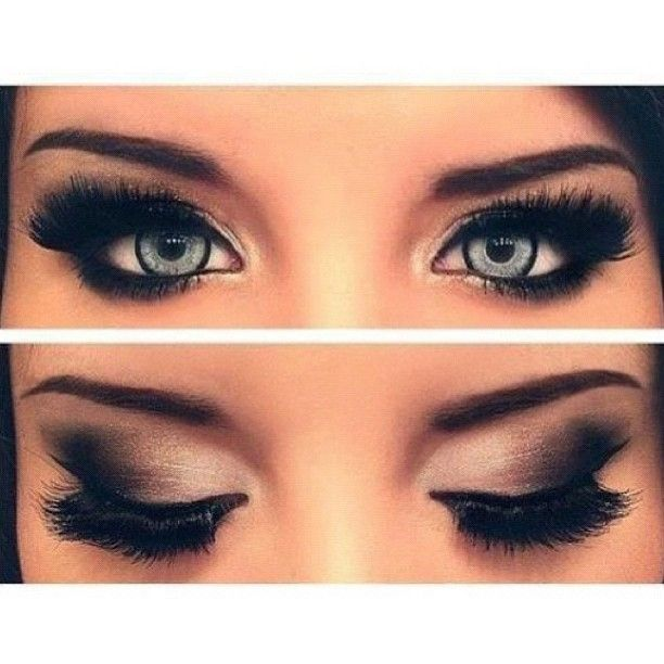 Long Lashes and well blended makeup for a simply beautiful look!