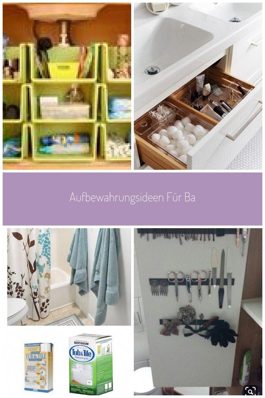 Aufbewahrungsideen Fur Badezimmer Aufbewahrung Kleiner