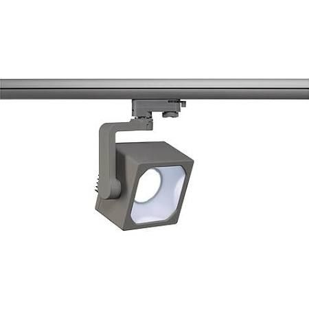 1100 lu_SLV 152714 Euro Cube DLMI LED Silver Grey Track Spot Light 14W 1100 Lu | Lighting ...