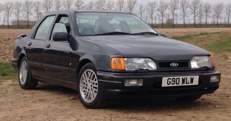 This Jeremy Clarkson Driven Ford Sierra Rs Cosworth Is For Sale