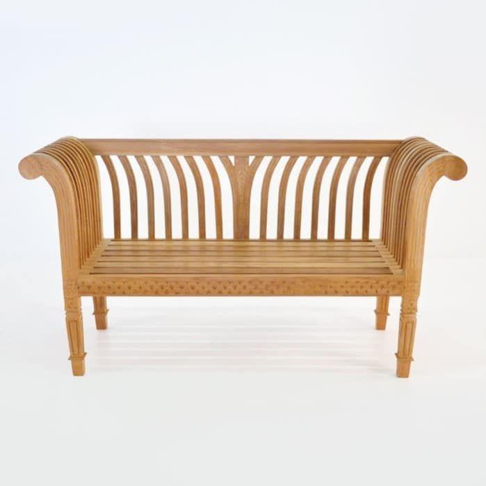 Cleopatra Teak Outdoor Bench 795 00, Cleopatra Bench Furniture