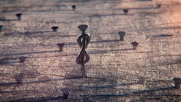 Free Growing Nails Scene by RENDERKING IT - C4D Vray Source | Cinema