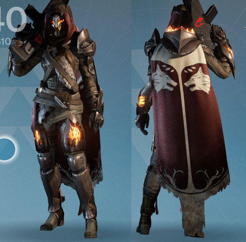 ArtStation - Rise of Iron - iron banner hunter gear, Rosa ...