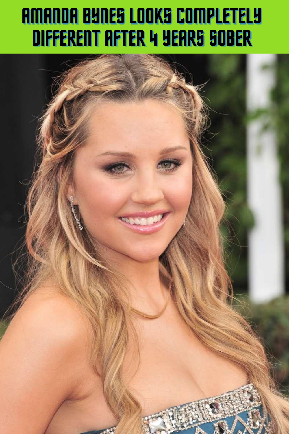 AMANDA BYNES LOOKS COMPLETELY DIFFERENT AFTER 4 YEARS