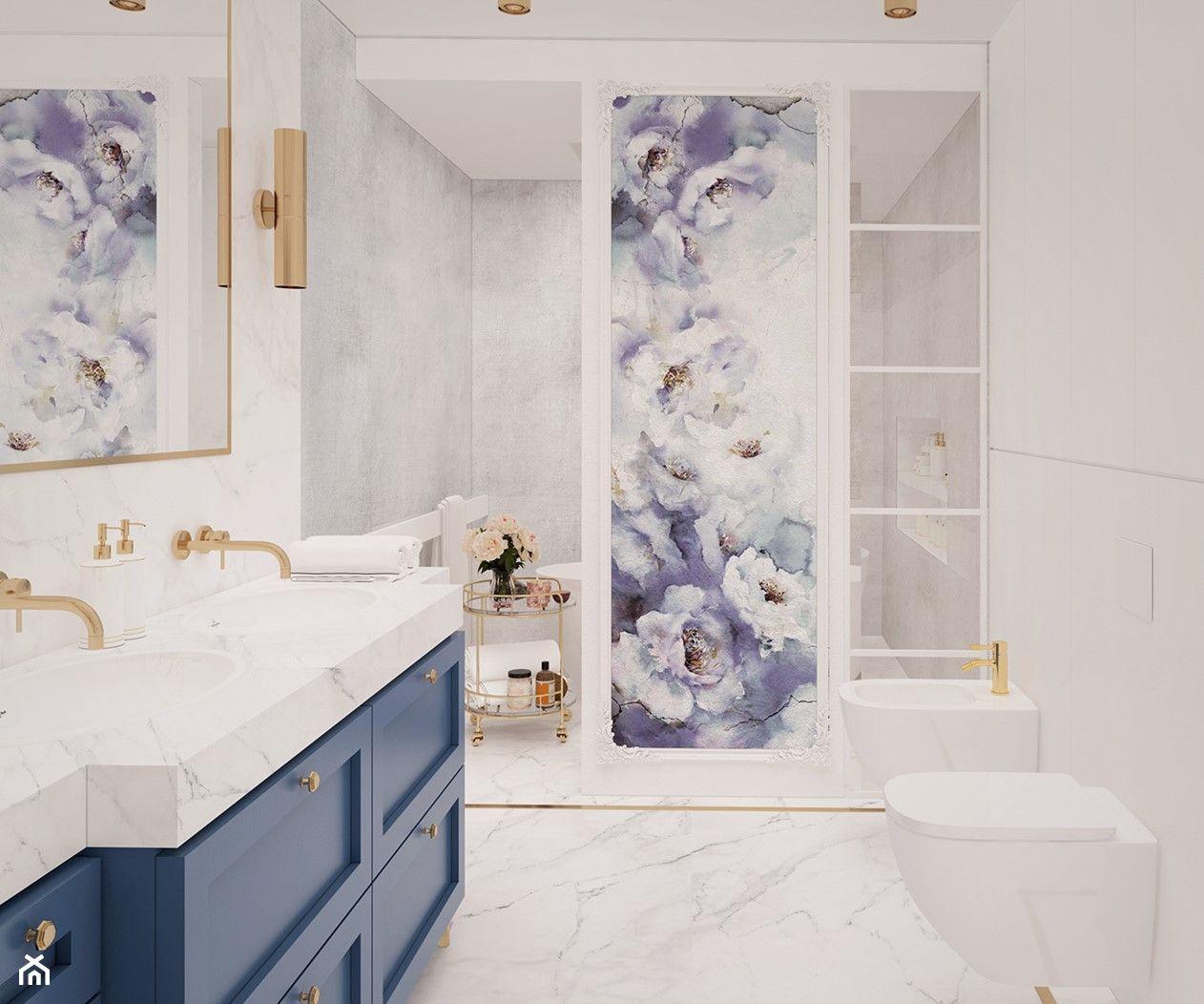 Photo of łazienka #13 – Łazienka, styl glamour – zdjęcie od JUST studio projektowe