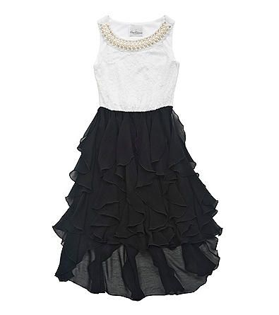 Herberger's Girls White Lace Dress