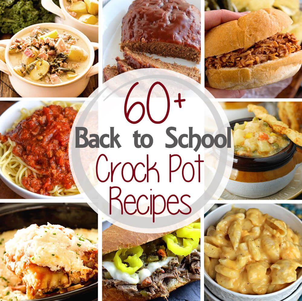 Dinner Ideas For Family Slow Cooker: 60+ Crock Pot Dinner Recipes
