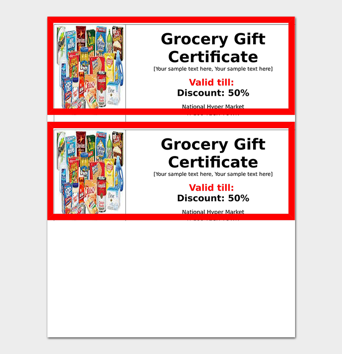 44+ Free Printable Gift Certificate Templates (for Word & PDF ...