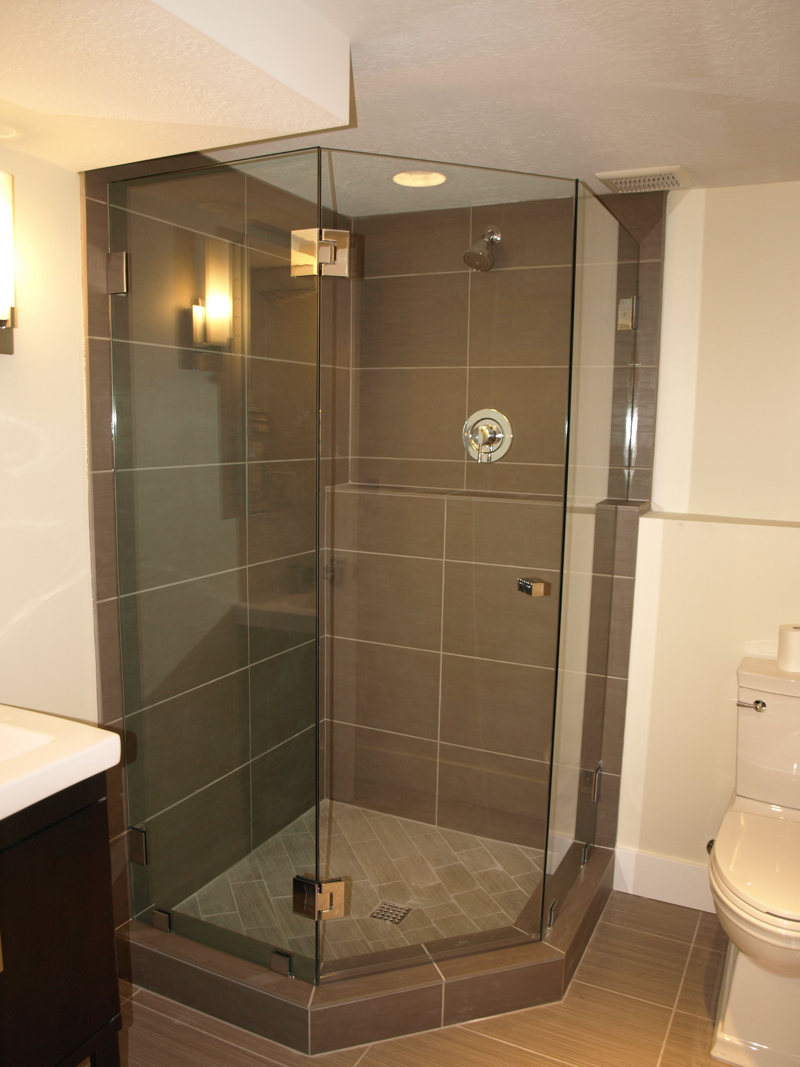 Frameless Glass Shower Doors Enclosures Bathroom Remodel