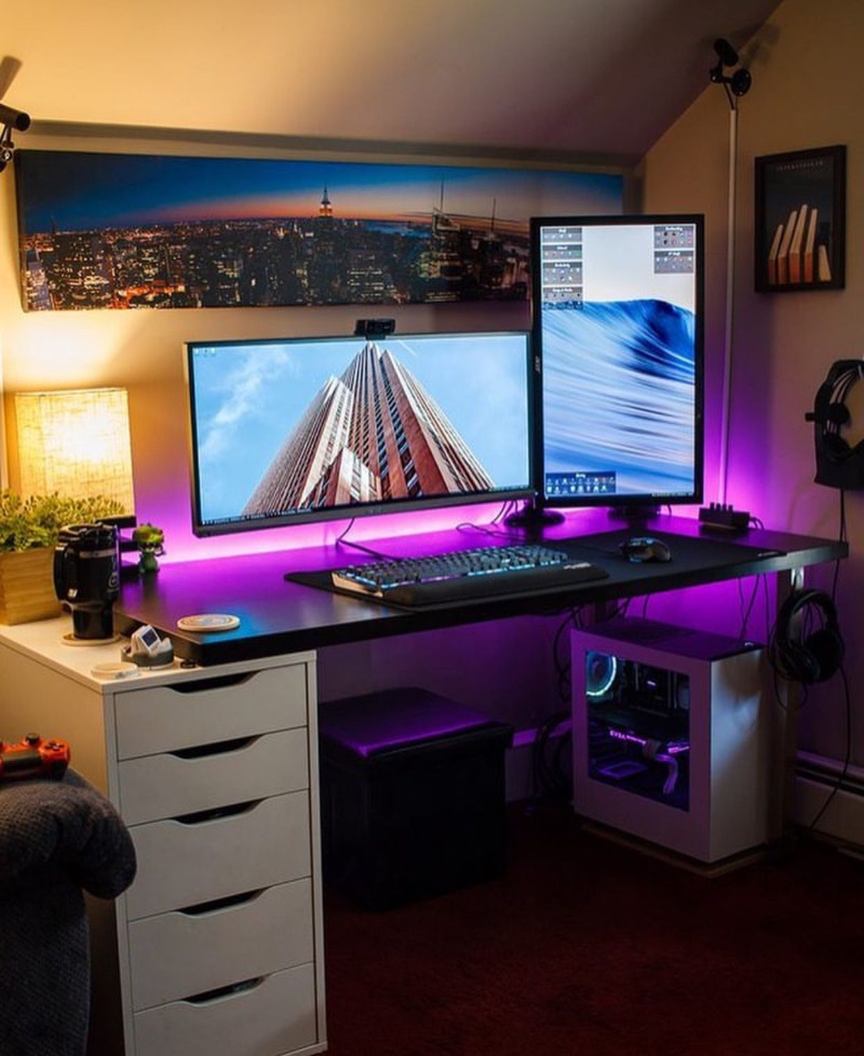Video Game Rooms, Gaming Desk