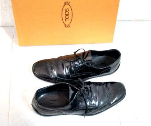 Tod-039-s-Herrenschuhe-Sneaker-mit-Karton-Gr-42-Budapester-Stil-Sneaks-Halbschuhe