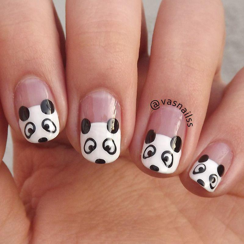 21 ideas creativas de diseño de uñas en blanco y negro | uñas en