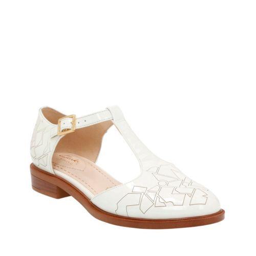 Taylor Palm - Off White Patent Zapatos azules Paez unisex Mt0Wsi62VM