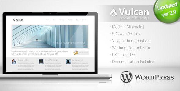 Vulcan v2.9 - Minimalist Business Wordpress Theme 4 - http ...