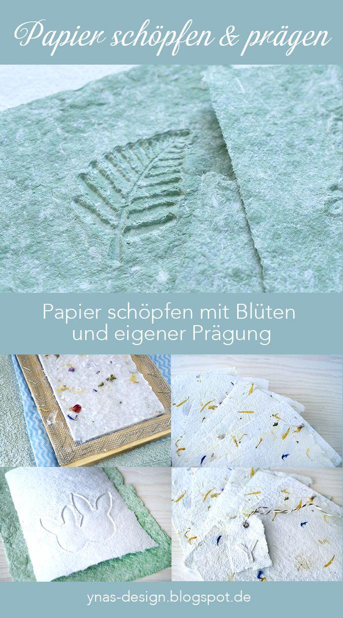 Photo of Papier Schöpfen und Prägen