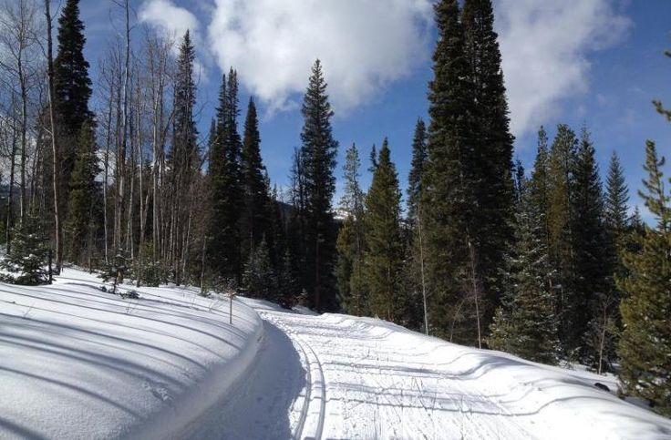 Outdoors Skate Skiing at Snow Mountain Ranch's Nordic