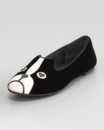 0482ab1b22 Marc by Marc Jacobs Shorty Velvet Dog Loafer   Marc Jacobs Shoes ...
