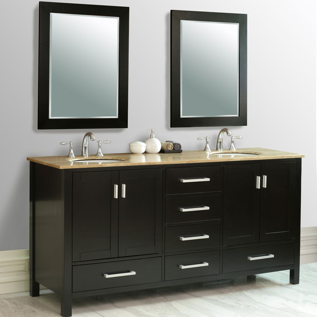 72 Oslo Double Sink Vanity Double Sink Vanity Double Sink Bathroom Vanity Vanity Sink
