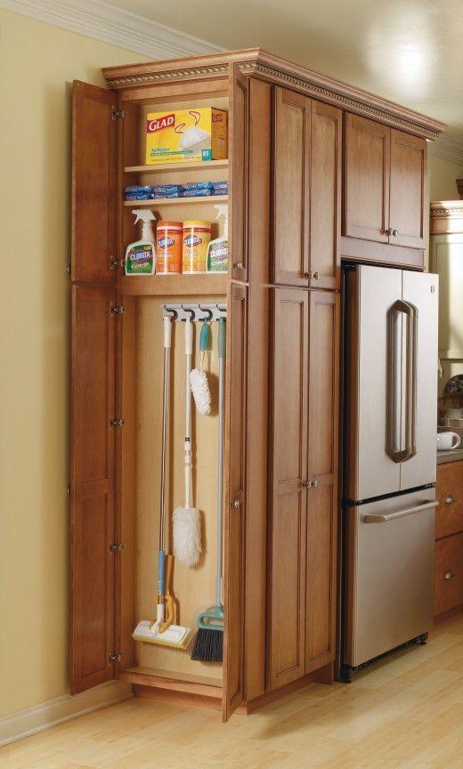 Küchenschrank-Organisatoren, die das Zimmer sauber und ordentlich halten - Haus Styling
