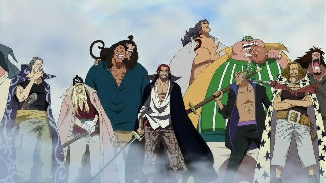 Akagami Pirates | One Piece