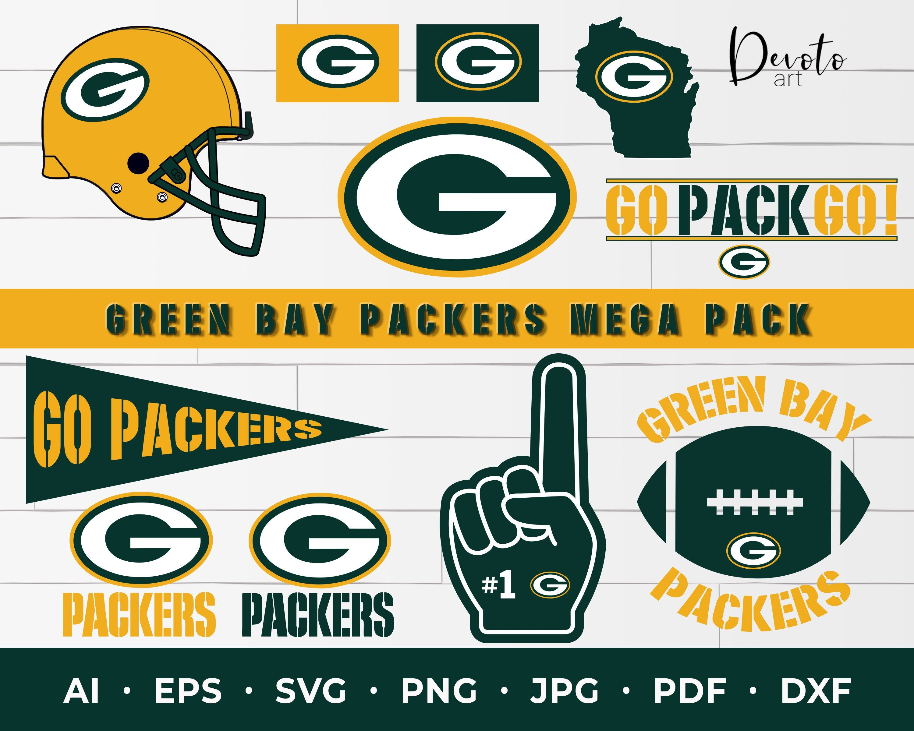 Green Bay Packers Svg Packers Mega Pack Svg Packers Svg Etsy In 2020 Packers Green Bay Packers Green Bay