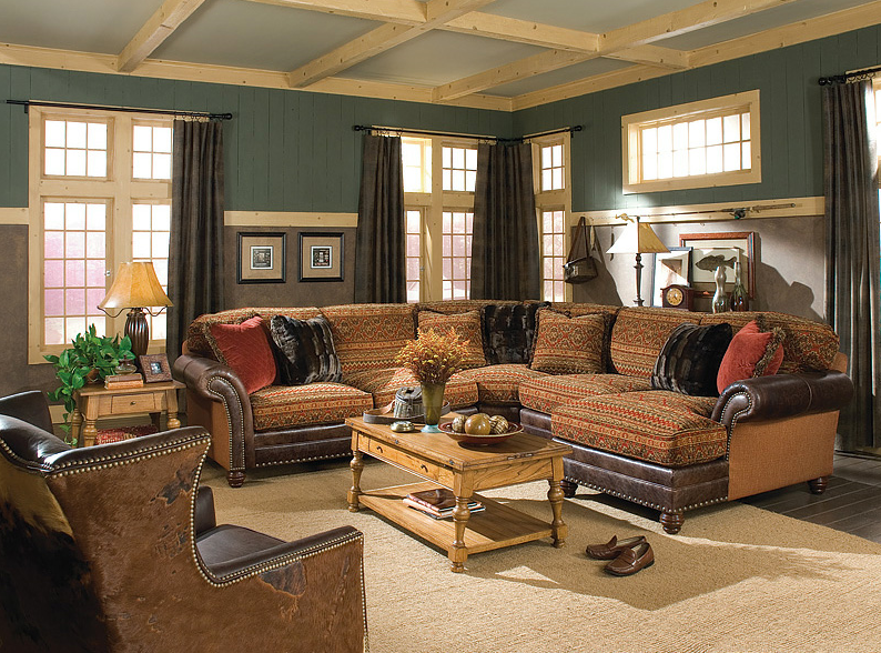 Conservative Western Family room sectional, Furniture
