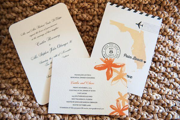 Elegant Florida Beach Club Wedding