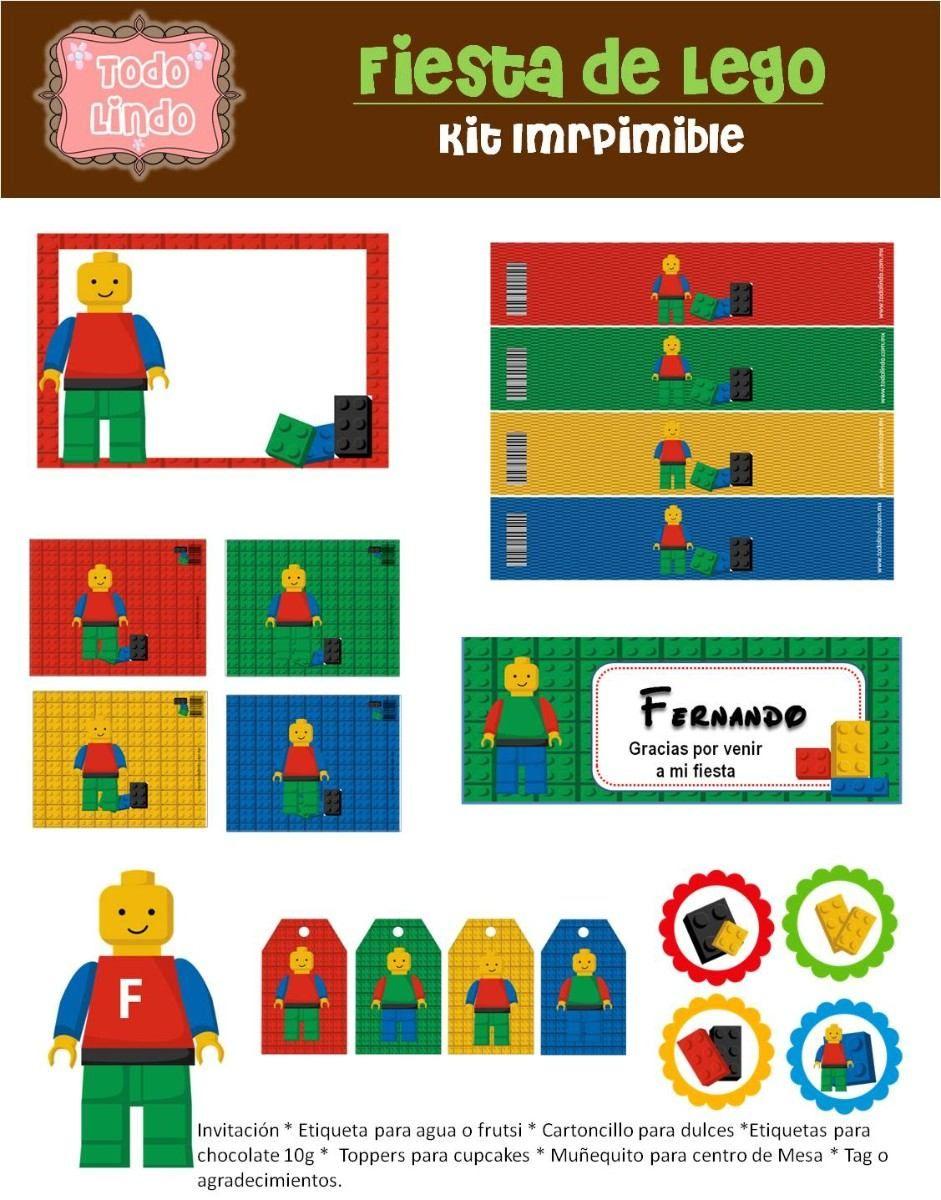 Laminas de lego city para imprimir gratis invitaciones - Laminas para imprimir ...
