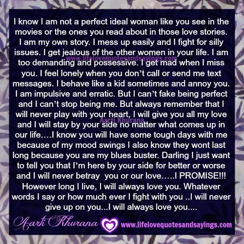 I Promise I Will Always Love You Jpg 500 500 Love Life Quotes I Get Jealous Profound Quotes