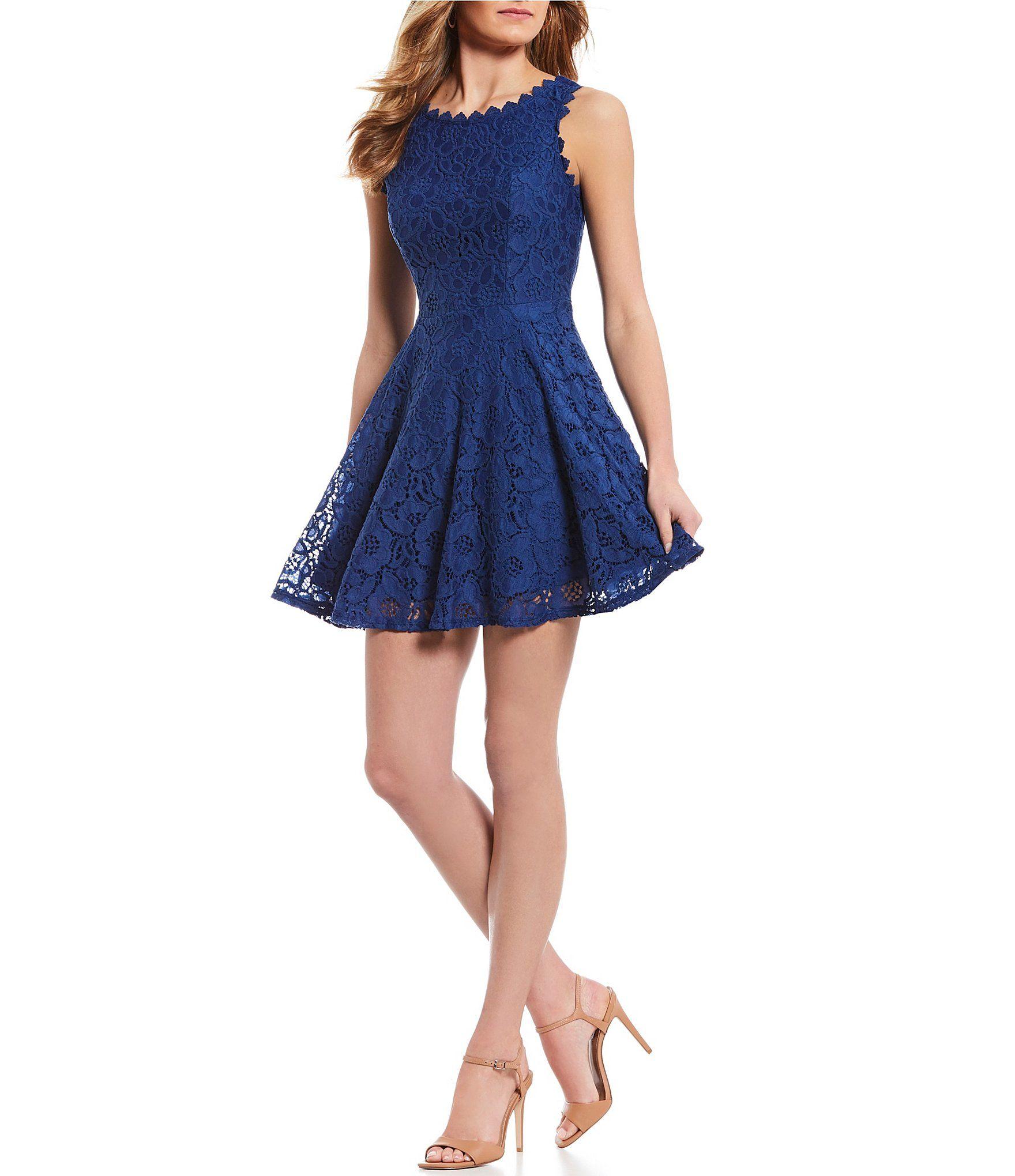 f560f3cc9f Shop for Jodi Kristopher Lace A-line Dress at Dillards.com. Visit  Dillards.com to find clothing