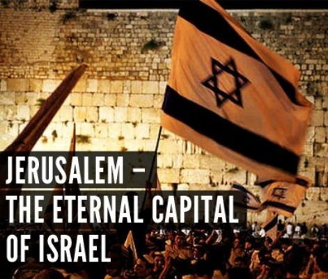 Jerusalem--the eternal capital of Israel